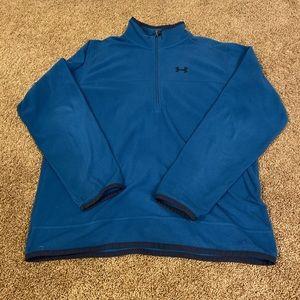 Under Armour quarter zip long sleeve fleece XL